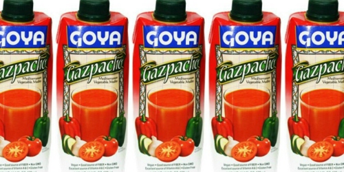 Free GOYA Gazpacho 16.9oz Drink (After MobiSave)
