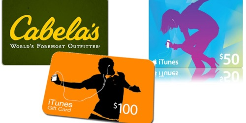 Staples: Discounted Gift Cards ($50 iTunes Gift Card Only $42.50 Shipped)
