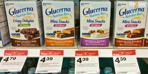 Target: Glucerna Multi-Pack Nutrition Bars ONLY $1.72 Per Box After Gift Card Offer (29¢ Per Bar)