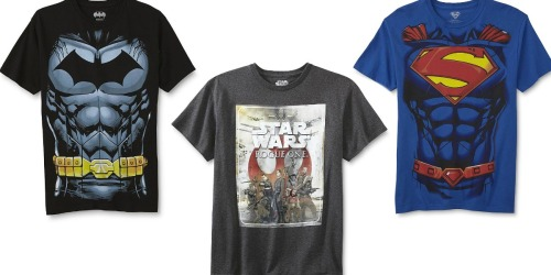 Kmart: THREE Graphic Men's Shirts Just $21.99 + Earn $20 in Shop Your Way Points