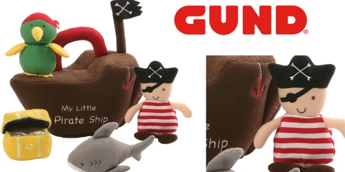 Amazon: Gund Pirate Ship Baby Playset Plush Just $9.99 (Regularly $25) – Great Baby Gift
