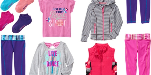 Gymboree.com: Free Shipping Sitewide = Girl's Active Leggings $9.99 Shipped (Reg. $34.95) + More