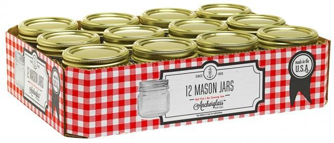 Anchor Hocking Canning Jars
