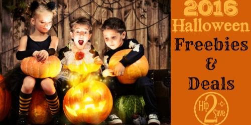 Halloween Freebies & Deals Round Up