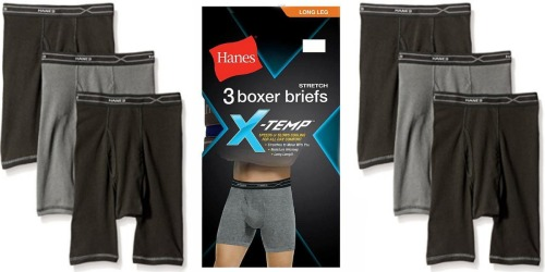 Kmart.com: Hanes X-Temp Boxer Briefs 3-Pack Only $13.49 + Earn $10 in Shop Your Way Points