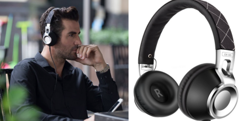 Amazon: Noise Isolating Headphones with Microphone ONLY $14.98 (Regularly $49.98)