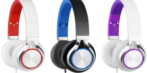 Amazon: Sound Intone Stereo Headphones Just $9.99