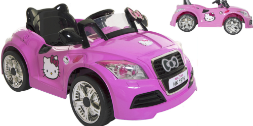 Walmart: Dynacraft Hello Kitty Sports Car Ride-On Only $99 Shipped (Regularly $199)