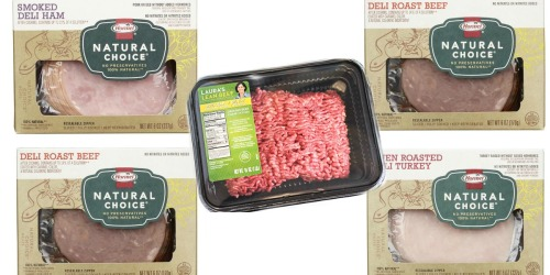 Target: Great Deal On Hormel Natural Choice Lunchmeat & Ground Beef
