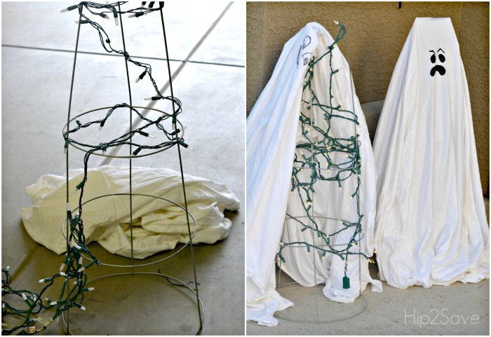 how-to-make-tomato-cage-ghosts