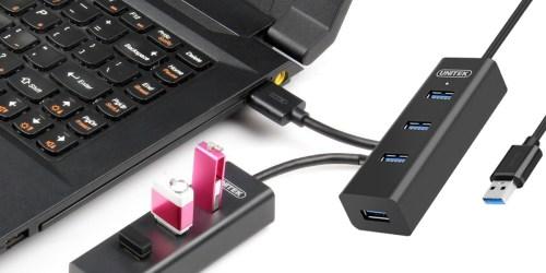 Amazon: Unitek 4-Port USB High Speed Hub Only $4.99 (Regularly $12.99)