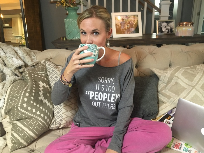 Our new It's Too Peopley Out There Tee