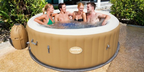 Amazon: SaluSpa AirJet Inflatable 6-Person Hot Tub UNDER $340 Shipped
