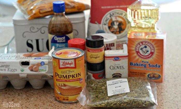 ingredients-for-pumpkin-bread