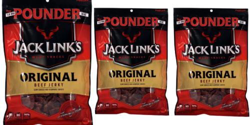 Amazon: Jack Links 1-Pound Bag Original Beef Jerky Only $12.33 Shipped