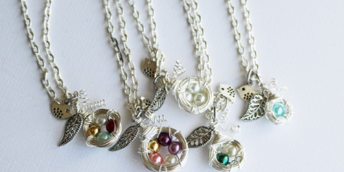 Jane.com: Mother's Family Nest Necklace Only $8.99 (Great Gift Idea)