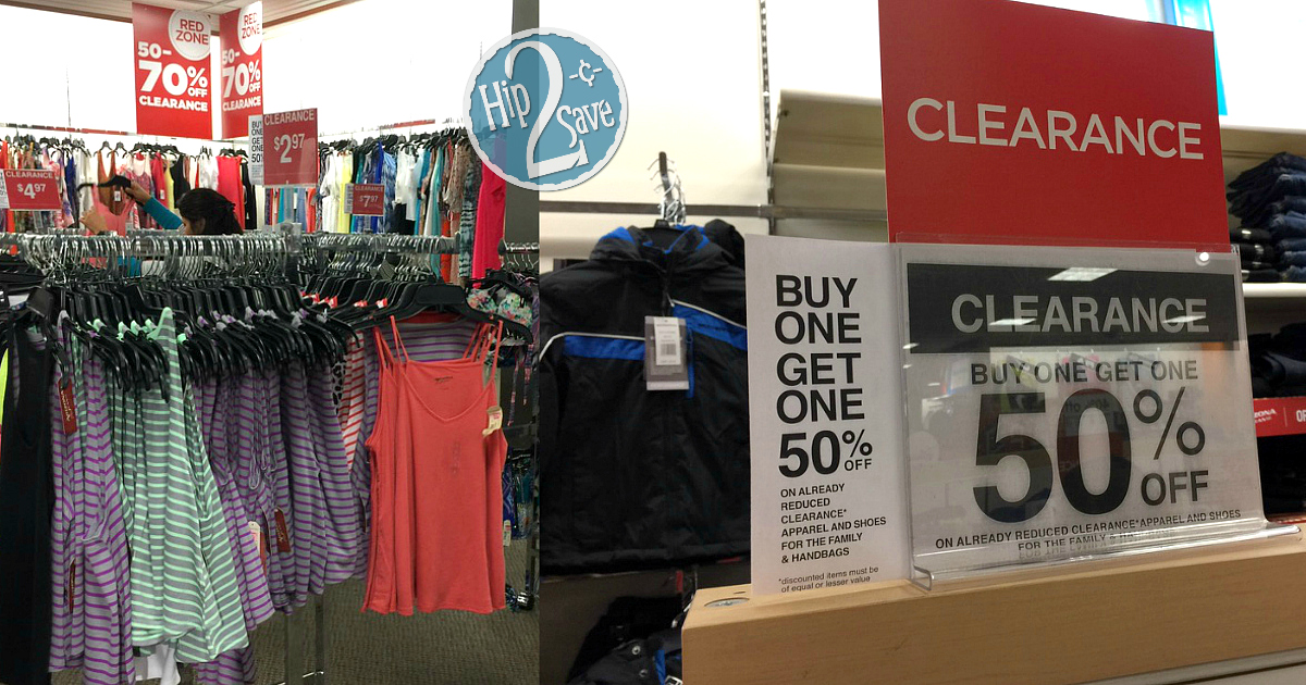 Jcpenney Buy 1 Get 1 50 Off Clearance Clothing Amp Handbags In Store Only Hip2save