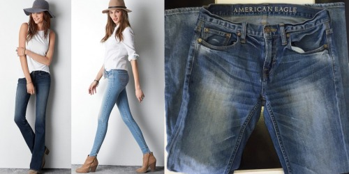 American Eagle: Adult Jeans Only $19.99