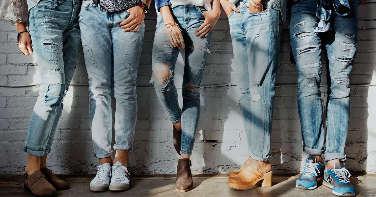 фото рекламы джинс