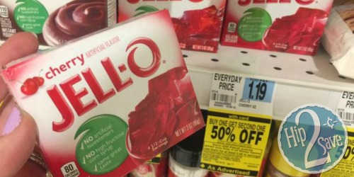 Rite Aid: Jell-O Gelatin Mix Only 39¢ + Jell-O Pudding Mix 62¢ After Plenti Points (No Coupons Needed)