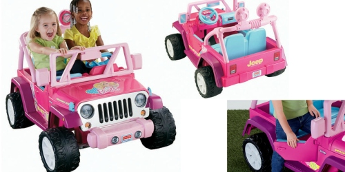 Jet.com: Power Wheels Barbie Jeep Wrangler As Low As $178.41 Shipped (Regularly $299.99)