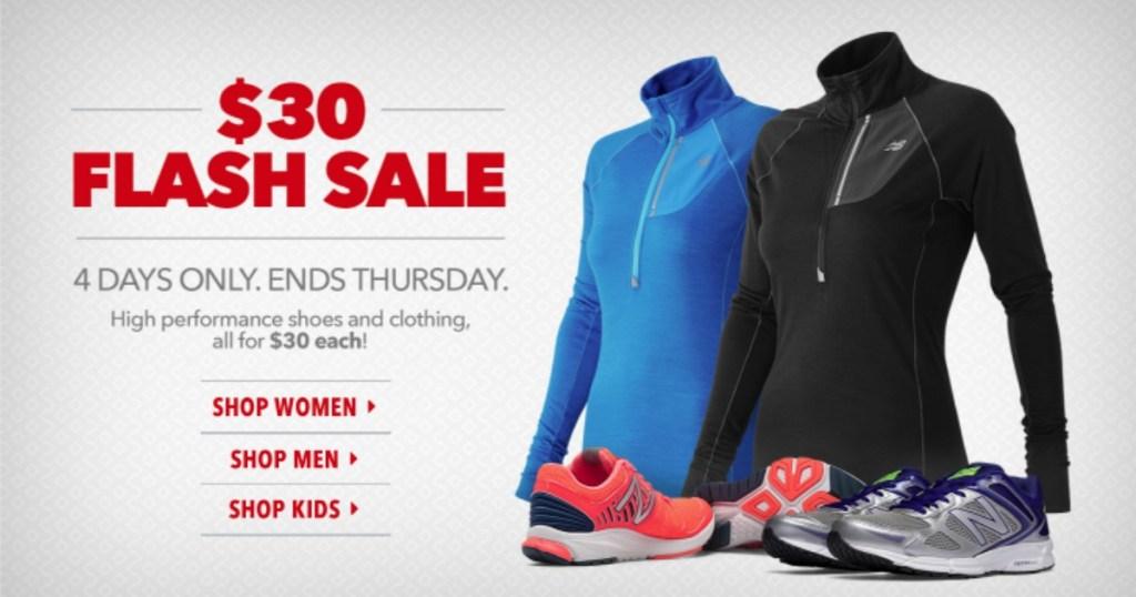 335c7b00b1889 New Balance $30 Flash Sale = Fresh Foam Zante Running Shoes ONLY $30 ...