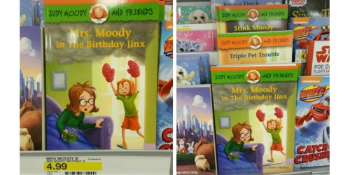 Target Shoppers! Score 50% Off Judy Moody AND Stink Books (Great Gift Ideas)