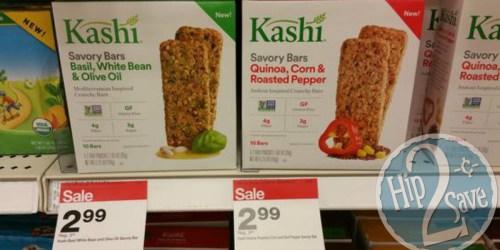 Target: Kashi Savory Bars Only 9¢ After Ibotta + Nice Deal on Kashi Cereal