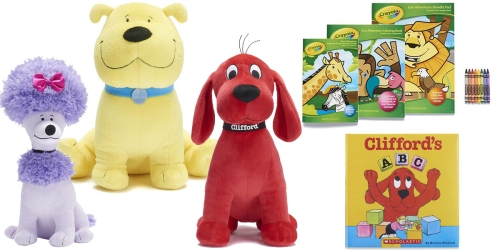 Kohl's Cares Clifford Books & Plush Animals ONLY $3.50 Each