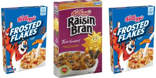 Walgreens: Kellogg's Cereal Just $1.19 After Cash Back (Starting 10/9)