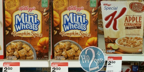 Two New Kellogg's Cereal Coupons = Nice Deals at Target and Rite Aid
