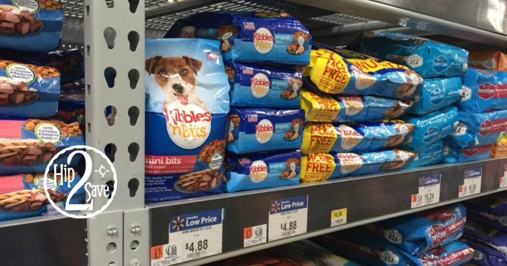 New 21 Kibbles N Bits Brand Dry Dog Food Coupon 35lb Bag Only