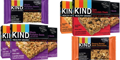 Amazon: 15 KIND Healthy Grains Gluten-Free Granola Bars Only $6.47 Shipped (= Just 43¢ Per Bar!)