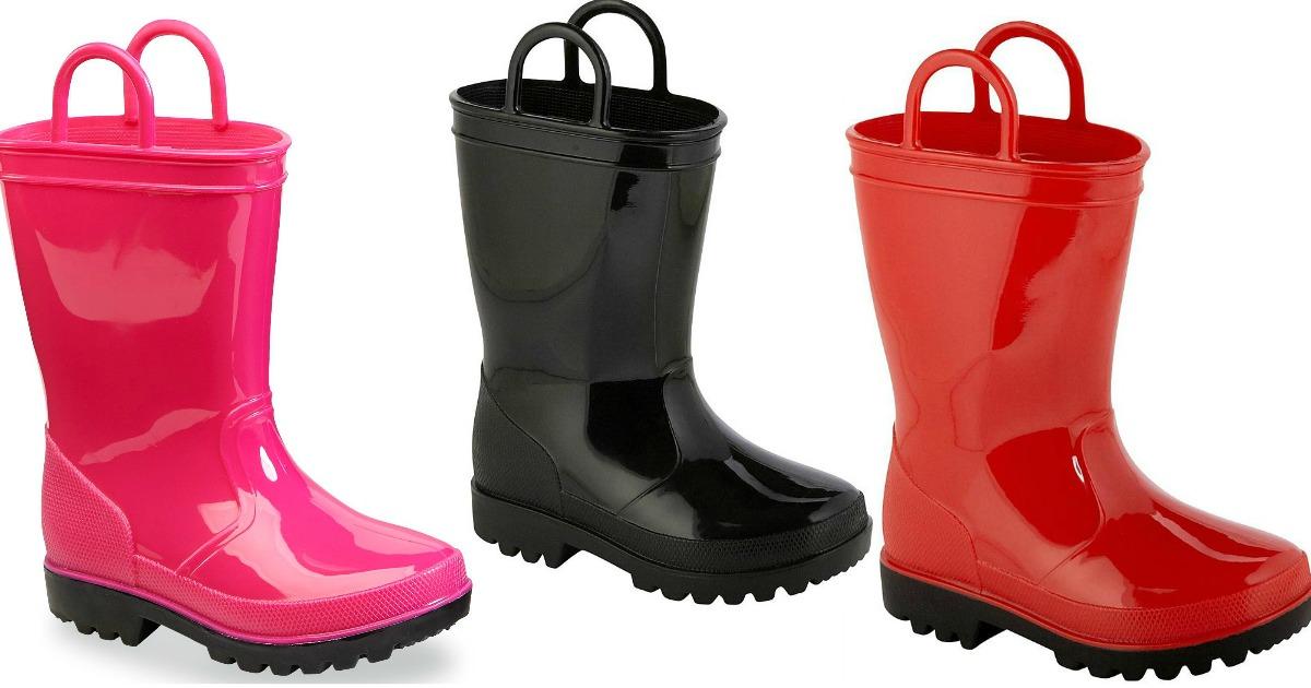 Shoes \u003d Rain Boots As Low As $7 Each
