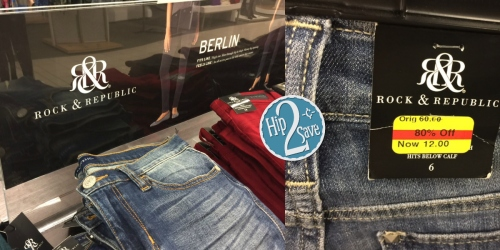 Kohl's: *HOT* $10 Off Each Pair of Rock & Republic Denim (Including Clearance!) = Select Items Only $2