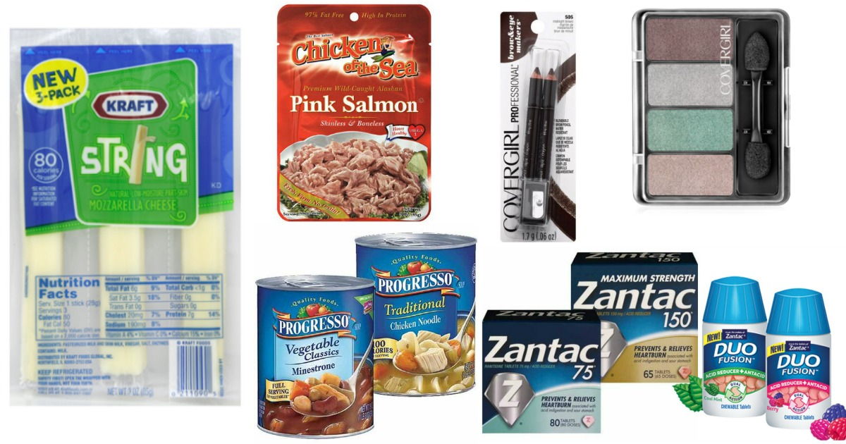 Top Coupons to Print Now (Save on Kraft Cheese, Chicken of the Sea, Progresso & More)