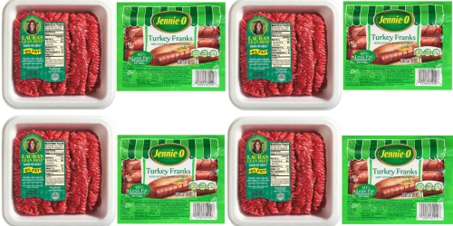 Target: 3 Packages of Laura's 1-lb Lean Beef AND 1 Pack of Jennie-O Turkey Franks Just $9.41 Total