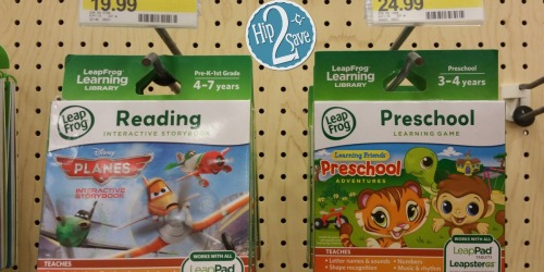 Target Cartwheel: 40% Off LeapFrog Learning Games