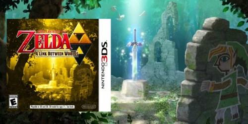 The Legend of Zelda: A Link Between Worlds – Nintendo 3DS ONLY $24.99 (Regularly $39.99)