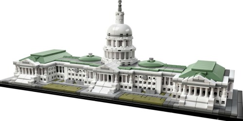 LEGO Architecture United States Capitol Building Kit Only $71.99 Shipped (Regularly $99.99)