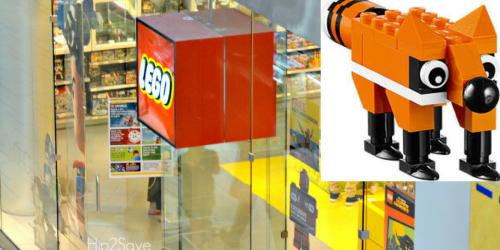 LEGO Store: Register Online NOW for Free Fox Mini Model Build (November 1st & 2nd)