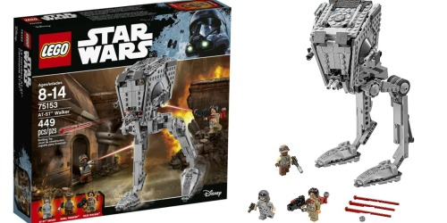 Amazon: LEGO Star Wars AT-ST Walker Set Only $32.82