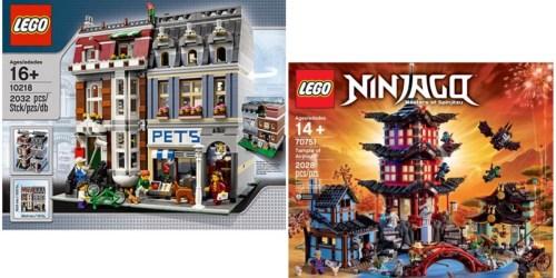 Walmart: Nice Savings on LARGE LEGO Sets