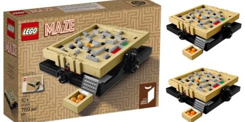 Walmart: LEGO Ideas Maze Set Only $50.88 Shipped