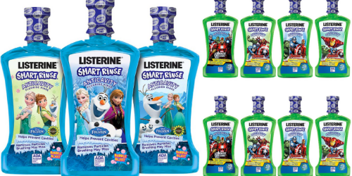Walgreens: Listerine Smart Rinse ONLY $2.12 Each (After Rewards)