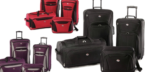 American Tourister 4-Piece Luggage Set Only $49.99 Shipped (Regularly $99)