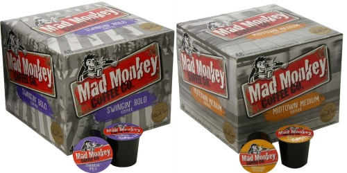 Amazon: Mad Monkey K-Cups 31¢ Each Shipped