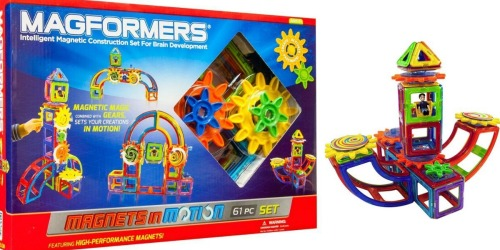 Nice Buy on Popular Magformers Magnets in Motion 61-Piece Set