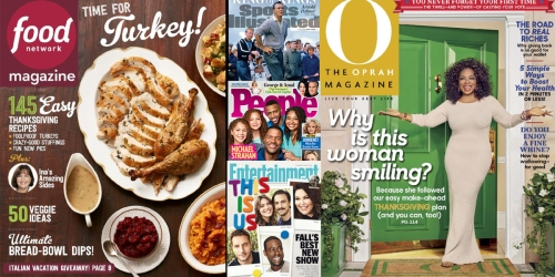 Weekend Magazine Sale – Consumer Reports, Sports Illustrated, National Geographic & More