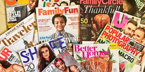 Weekend Magazine Sale: Save on Everyday with Rachael Ray, US Weekly, Rolling Stone & More